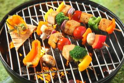 Stay midsummer night! Starry BBQ Grilling Day~
