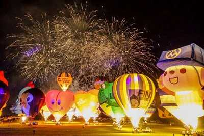 2020 Taiwan International Hot Air Balloon Carnival turns ten years old ~